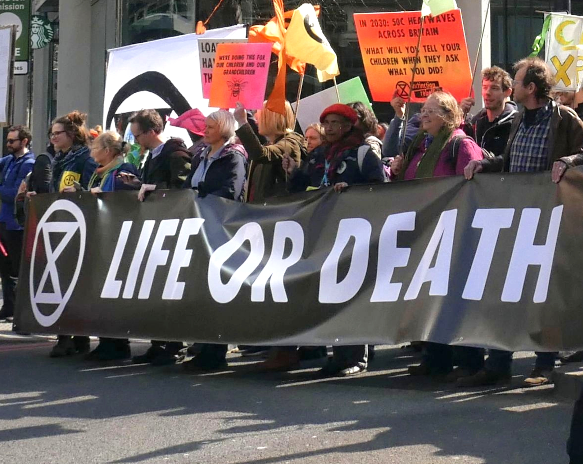 Extinction Rebellion in London (15 April 2019)