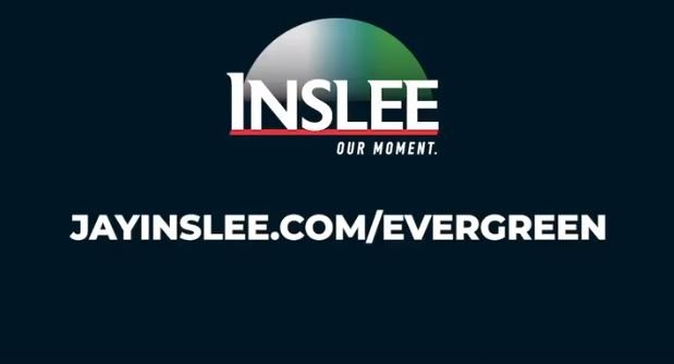 Jay Inslee - running for president as the climate change candidate