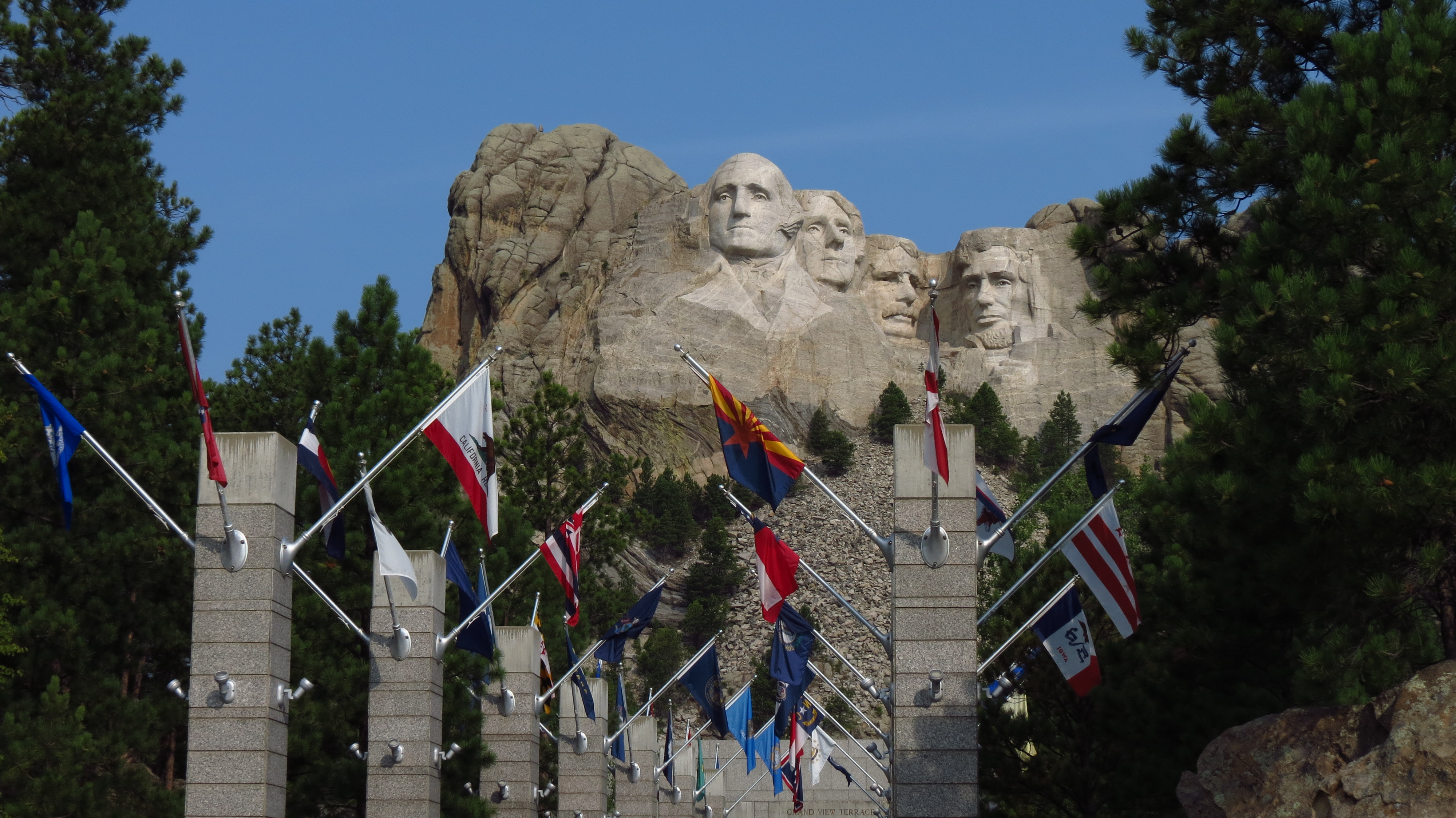 national parks: mount rushmore