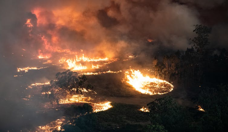 Australia bushfires photo by Victoria Government
