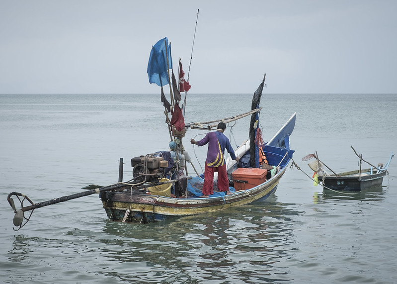 Mariners are essential to society, yet often work in challenging situations and have limited communication with those on land. Photo by Chris Bird/Flickr
